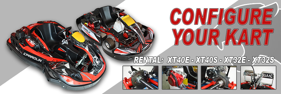 Configure your rental kart