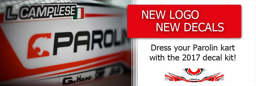 Dress your Parolin kart with the 2017 decal kit
