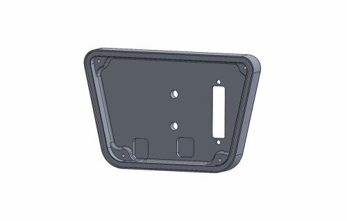 DISPLAY BASE FOR XT40 COUNTER BLACK ANODIZED- NAKED