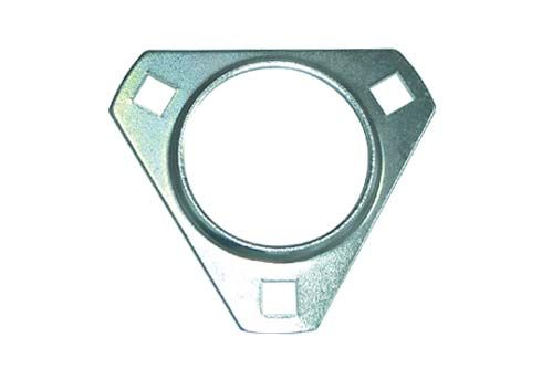 BEARING FLANGE 30MM STEEL