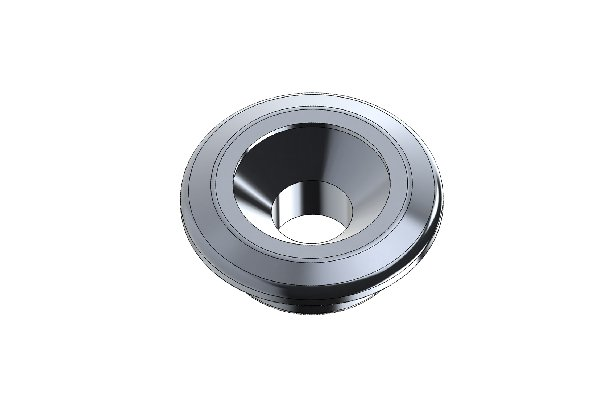 COUNTERSUNK WASHER D=20MM HOLE=6mm TITANIUM ANODIZED