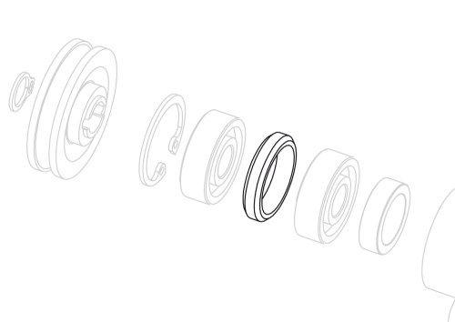 bearing spacer 60 cc water