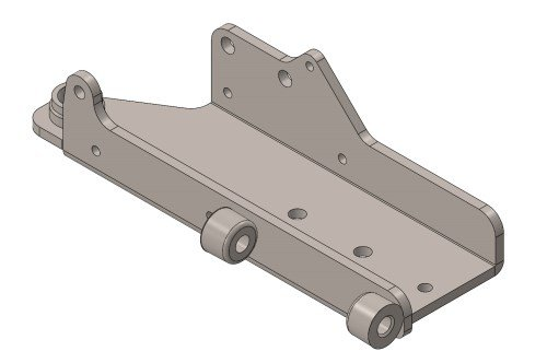 PLATE FOR INDOOR XT40 ADJUSTABLE PEDALBOARD