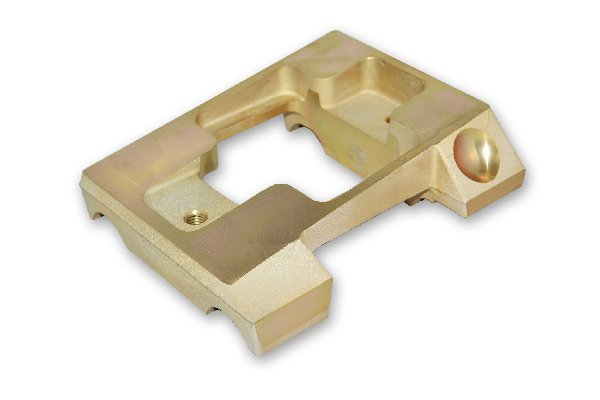 MAGNESIUM INCLINED ENGINE MOUNT FOR 30MM TUBE - WITHOUT HOLES