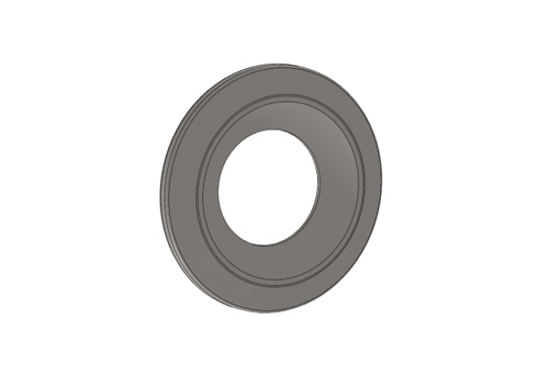 ROUNDED WASHER FOR STUB AXLE - BURNISHED