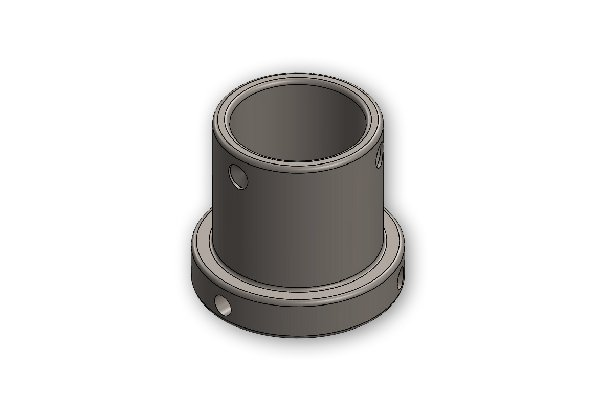 ADAPTER FOR BEARING AXLE FROM 50MM TO 40MM - BURNISHED