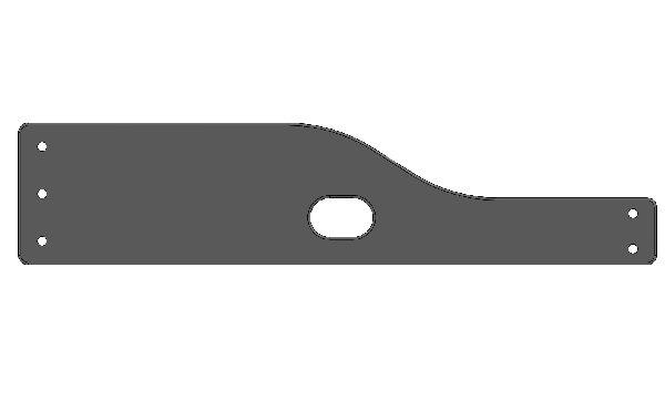 XT40 OPEN REAR WHEEL LH PLASTIC PROTECTION
