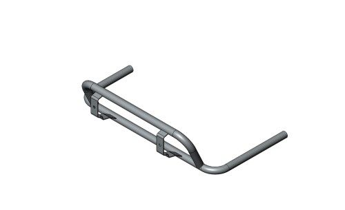 SIDE POD SUPPORT RH EUROSTAR AGILE CIK 2020 - CHROMED