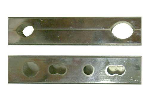 STAFFA SUPP. SPOILER ANT. BABY /MINI 2005 CROMATA CORTA 115MM