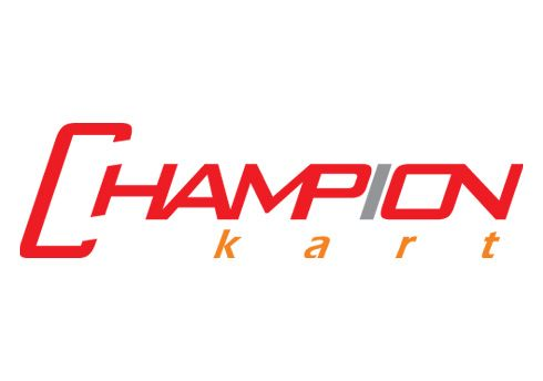 CHAMPIONKART STICKER BIG 150X43MM