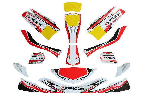 PAROLIN MOTORSPORT STICKER SET FOR EUROSTAR DYNAMICA