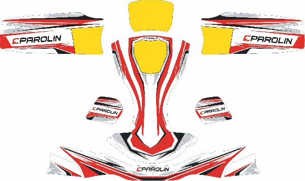 PAROLIN MOTORSPORT STICKER KIT FOR EUROSTAR AGILE BODYWORKS