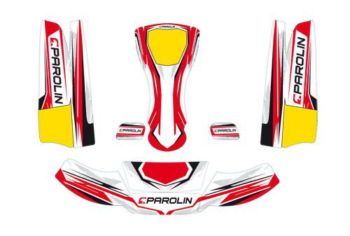 PAROLIN MOTORSPORT STICKER KIT FOR MINI KG BOBYWORK