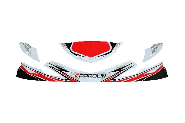 PAROLIN MOTORSPORT STICKER KIT FOR FRONT SPOILER DYNAMICA