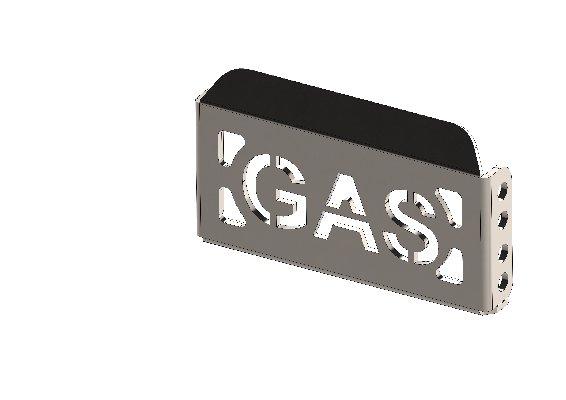 APPOGGIAPIEDE PEDALE GAS XT40 STRETTO Z.B.