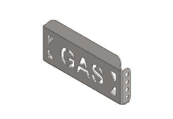 APPOGGIAPIEDE PEDALE GAS XT40 LARGO Z.B.