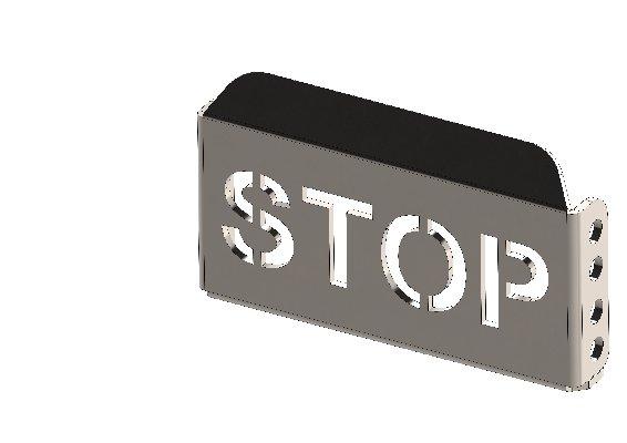 APPOGGIAPIEDE PEDALE STOP XT40 STRETTO Z.B.