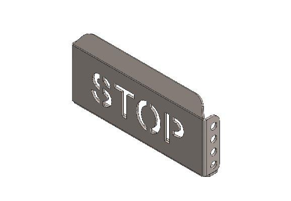 APPOGGIAPIEDE PEDALE STOP XT40 LARGO Z.B.