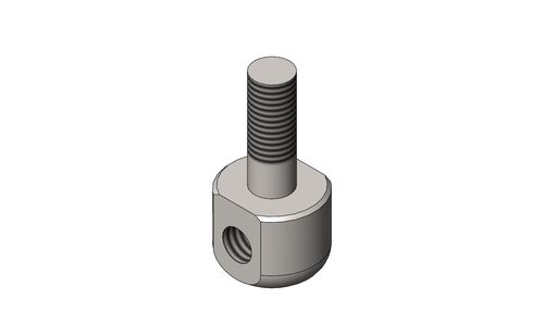 SCREW LATHED - THREAD HOLE FOR BRAKE DISTRIBUTOR
