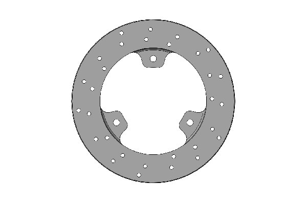FRONT SELF-VENTILATED BRAKE DISC 150X13MM