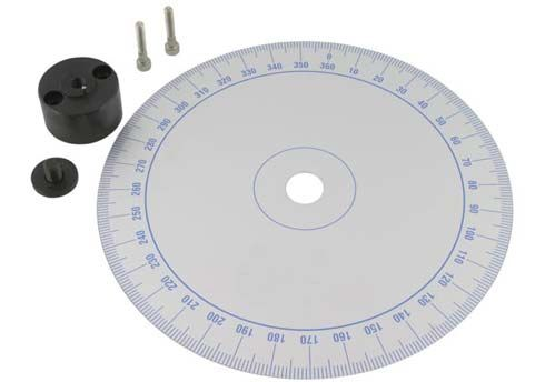 DEGREE WHEEL WITH ADAPTER FOR 100-125 CC
