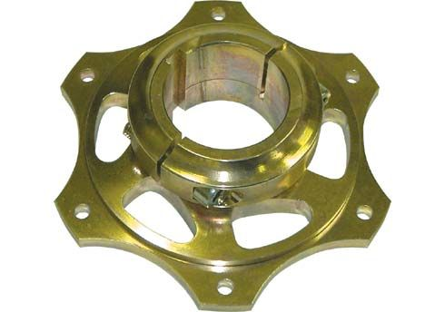 SPROCKET CARRIER 50MM H.Q. - GOLD MAGNESIUM