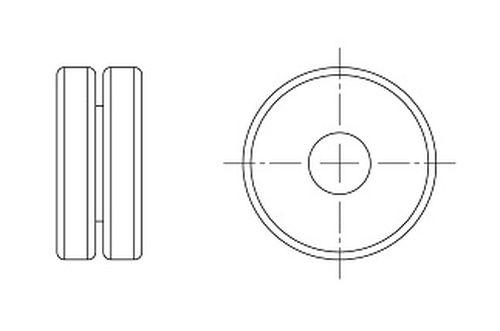 PASSACAVO IN PVC MORBIDO NERO PER RADIATORE