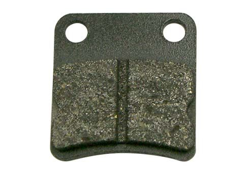 FRONT BRAKE PAD AP-RACE, MEDIUM,10MM, BLACK