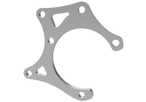BRAKE CALIPER SUPPORT FOR AP-RACE 01 REAR BRAKE CALIPER (KF) - HIGH BEARING CARRIER
