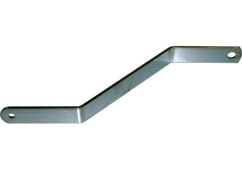 UPPER BRACKET FOR EUROSTAR LIGHT FRONT PANEL - CHROMED