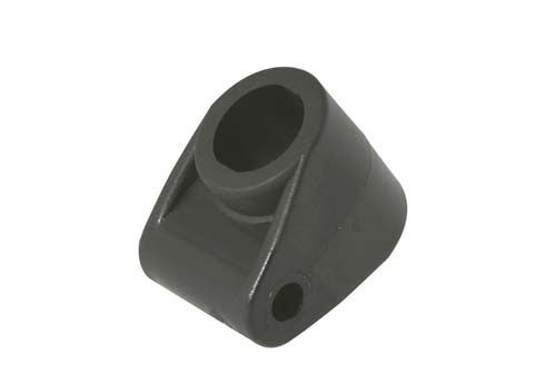 STEERING COLUMN SUPPORT WITH 1 HOLE- BLACK