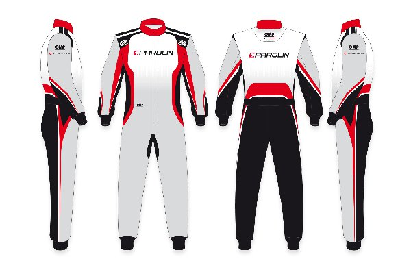 PAROLIN MOTORSPORT OMP KS2-R DRIVER KARTING SUIT