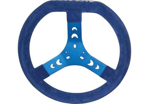 STEERING WHEEL DIESIS BLUE-CHAMOIS (320MM)