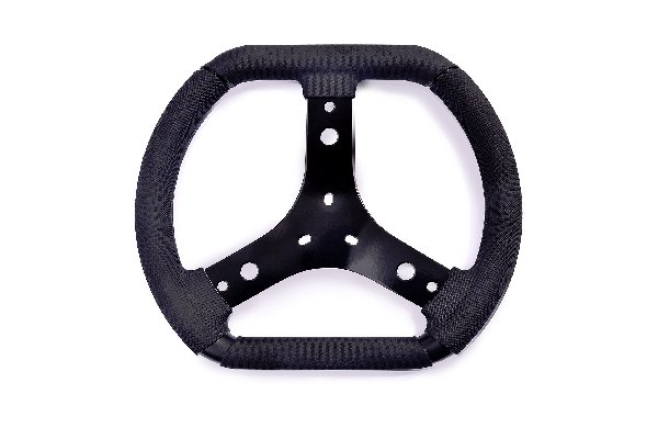 REINFORCED STEERING WHEEL BLACK FOR INDOOR- 320MM DIESIS
