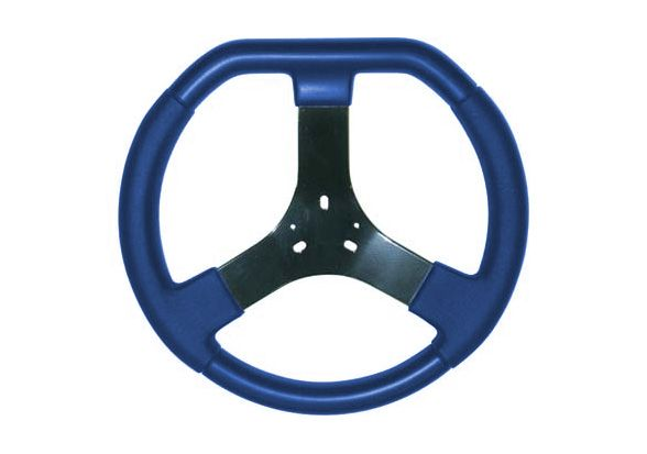 STEERING WHEEL BLUE 320MM DIESIS
