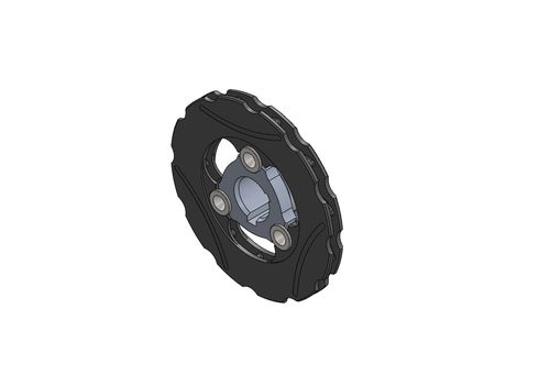 BRAKE DISC 149MM FLOATING MINI COMPLETE WITH 30MM DISC CARRIER