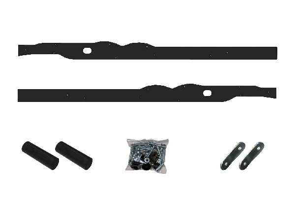 SIDE CIRCULAR PROTECTIONS KIT FOR MINI DYNAMICA BLACK