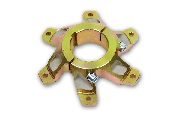 MAGNESIUM SPROCKET CARRIER 50MM COMPLETE