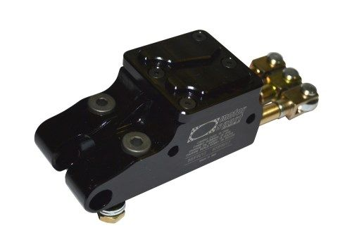 AP-RACE 04 HYDRAULIC BRAKE PUMP BLACK ANODIZED - HOM.n° 86-87/FR/17