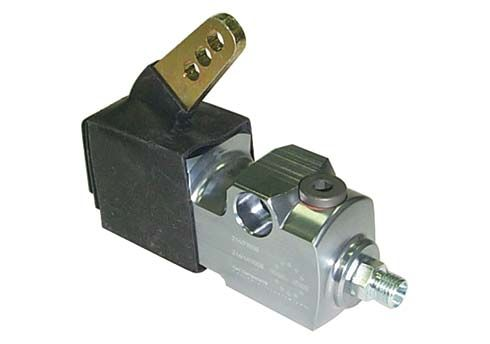 HYDRAULIC BRAKE PUMP EUROSTAR - TITANIUM ANODIZED