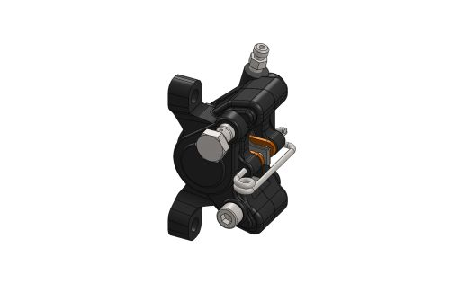 FRONT HYDRAULIC BRAKE CALIPER FOR AP05 RX COMPLETE