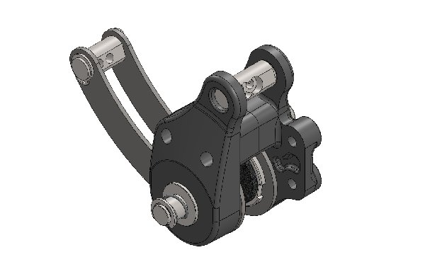 REAR MECHANIC CALIPER FOR DELFINO