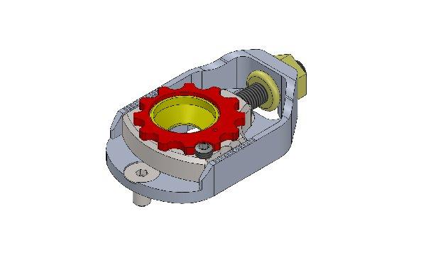 ECCENTRICO EASY CASTER CAMBER M8 COMPLETO