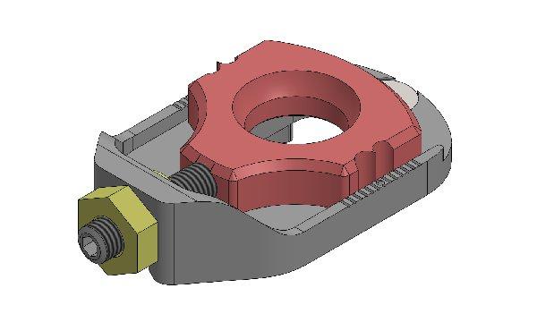 ECCENTRICO EASY CASTER M10 COMPLETO
