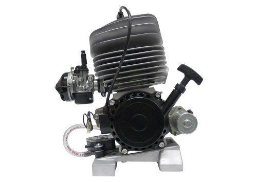 ROCKY 60CC COMPLETE PISTON PORT ENGINE - AIR COOLED - pull start