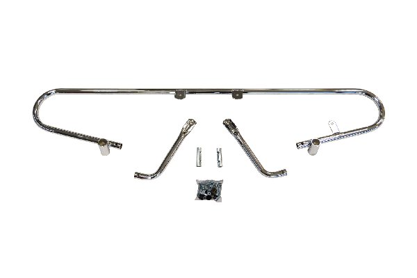 REAR BUMPER MINI CSAI 2005-09 (560MM) - CHROMED