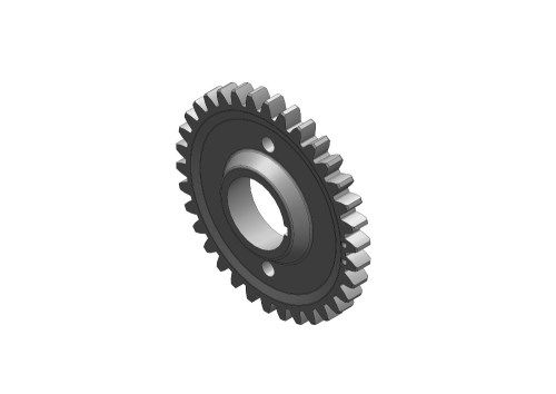 Balancing shaft GEAR Z 34