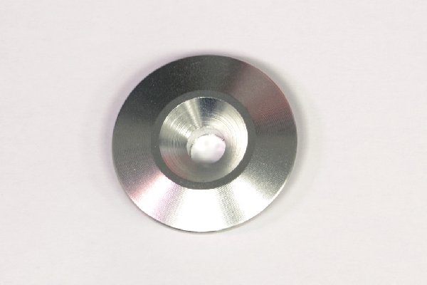 COUNTERSUNK WASHER D=30MM HOLE=6mm TITANIUM ANODIZED